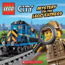 Lego City: Mystery on the Lego Express by Trey King (2014, Picture Book)