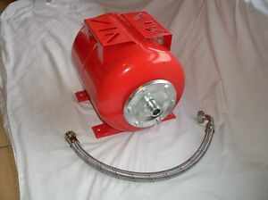 Hot-Sale-24L-Steel-Pressure-tank-with-S-S-Flex-Hose-for-Water-Pumps-25mm