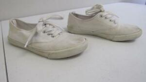 Old Navy White Canvas Sneakers Shoes