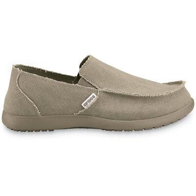 NEW Genuine Crocs Mens Santa Cruz Slip-On Khaki/Khaki - Australia Store