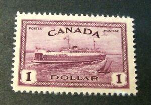 Canada Stamp Scott# 273 Train Ferry, PEI 1946 MH L391