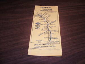JAN-1969-READING-COMPANY-PHILADELPHIA-CHESTNUT-HILL-PA-PUBLIC-TIMETABLE