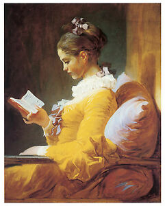 fragonard young woman reading