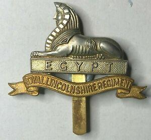 Cap Badge Lincolshire Regiment