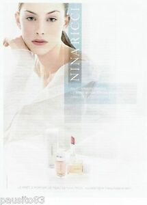 PUBLICITE ADVERTISING 116  2002   Nina Ricci  ligne maquillage & soin