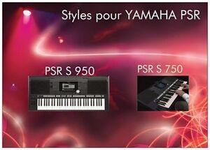 Tyros 2 /& Tyros 3 Download oder USB-Stick 4500 SONG Styles für Yamaha Tyros 1