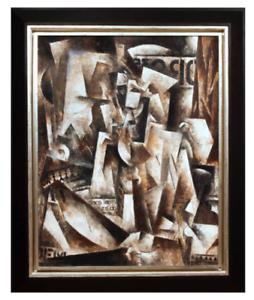 Robert-Marc-1943-1993-American-Original-Oil-Painting-Modern-Art