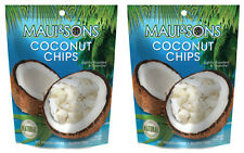 2 Bags of Maui and Sons Coconut Chips Free Shipping!