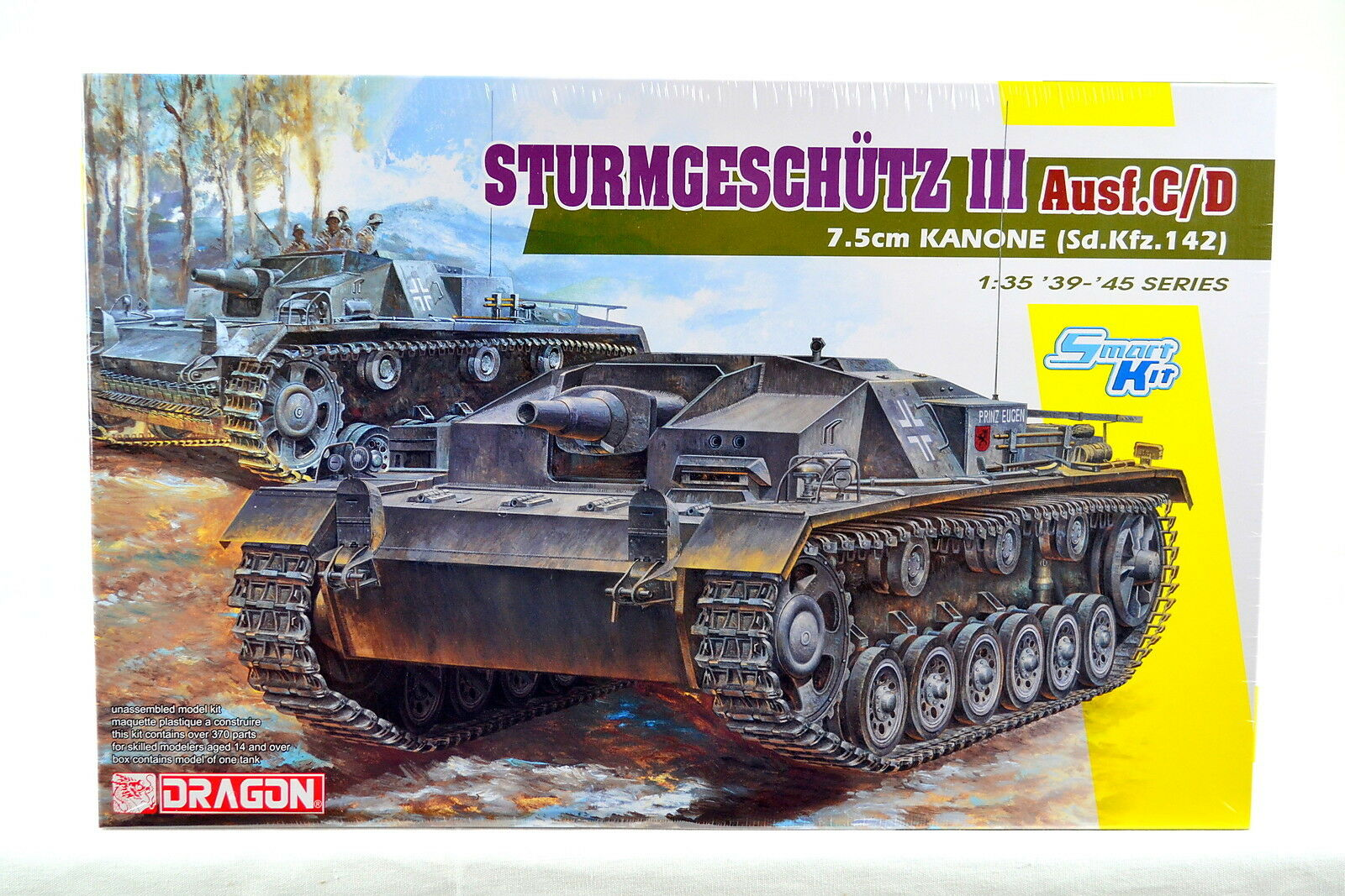 Dragon 6851 1 35 STURMGESCHÜTZ 7.5cm KANONE (Sd.Kfz.142) Ausf.C D (Smart kit)