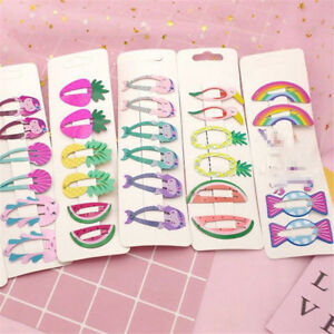 6Pcs-Mini-Girls-Fruit-Hair-Clips-Snaps-Hairpin-Baby-Barrettes-Hair-Accessories