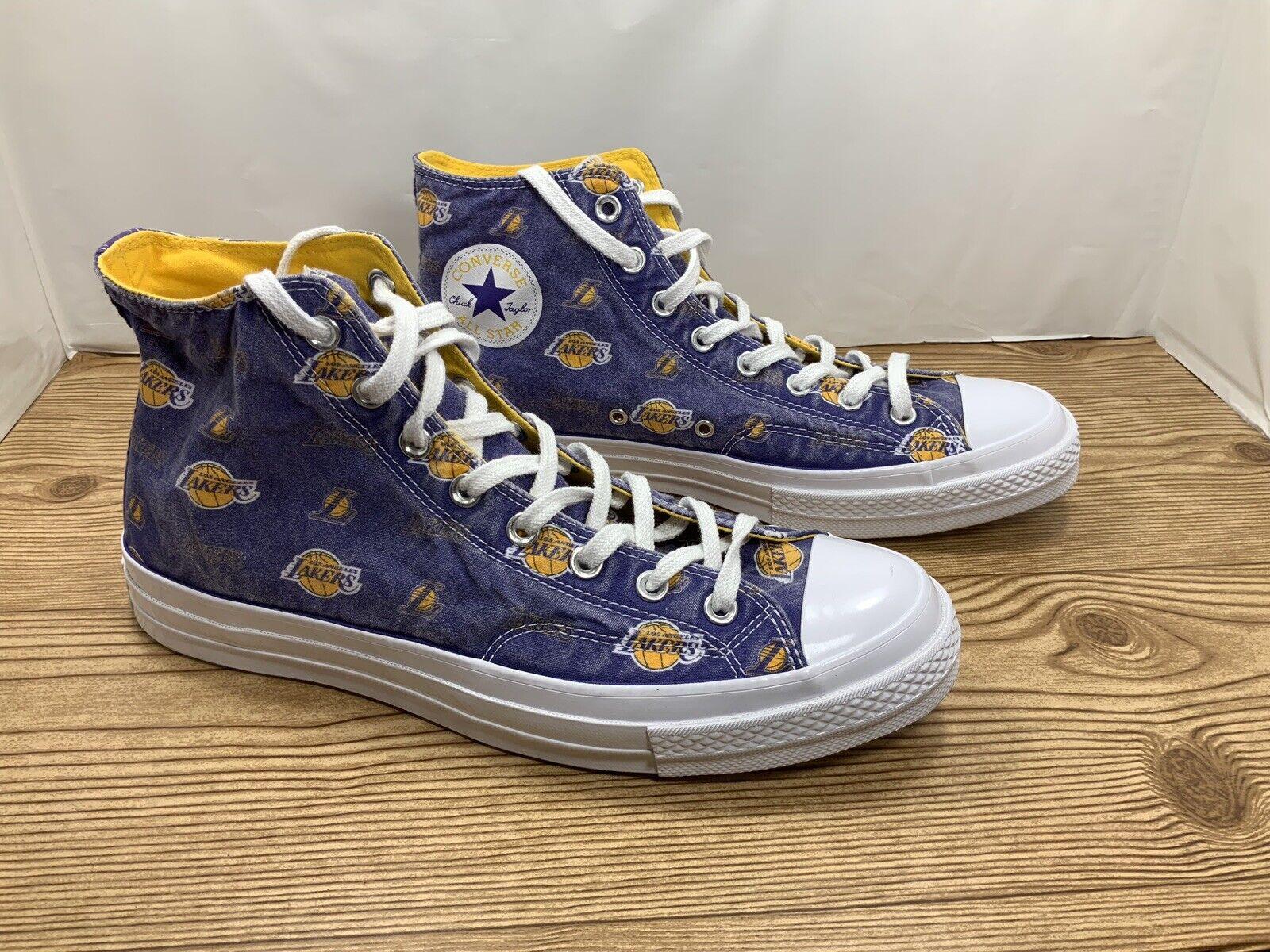 "Converse Chuck Taylor All Star 70's Hi ""Los Angeles Lakers"", Mens Size 10.5"