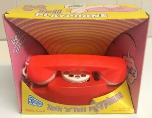 Vintage-1976-Steven-Talk-N-Tell-Playphone-Not-Working