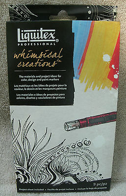 Liquitex Professional Whimsical Creations & Paint Markers ~ NEW