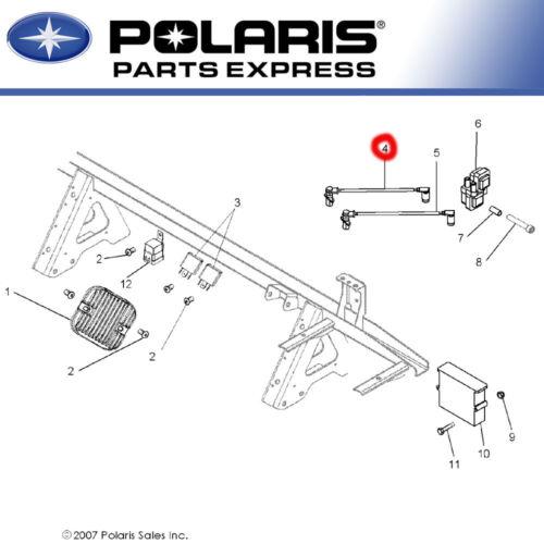 NEW GENUINE POLARIS SPARK PLUG WIRE SPORTSMAN RANGER 700 800 XP EFI OEM 4011364