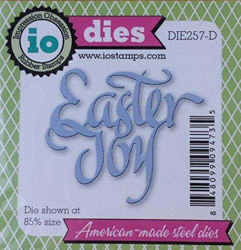 Impression Obsession Steel Die Easter Joy