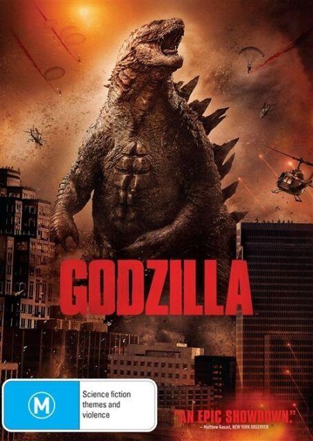 Godzilla (DVD, 2014)