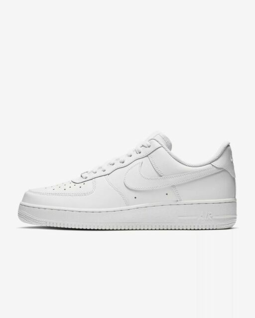 Nike Air Force 1 '07 Size 9.5 Athletic Shoes - White (315122-311)