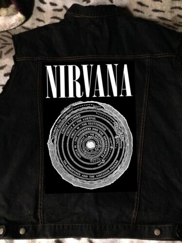 noir en Of Vestibule S Veste Cercles coupé Hell Blanchiment de 6xl denim Nirvana combat wYaqxAA