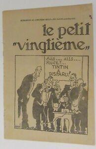 TINTIN-HERGE-LE-PETIT-VINGTIEME-NO-38-1932-BON-ETAT