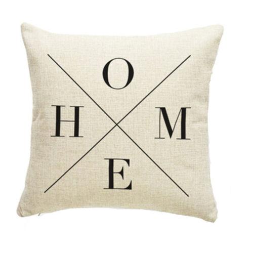 Vintage impression Throw Pillow Cases CAFE canapé oreiller Housse de coussin Home Decor
