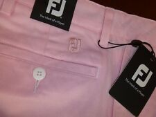NIB VOKEY PINK CHAMBRAY PERFORMANCE SHORTS SIZE 34""
