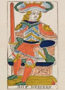 Tarot of Marseilles THE WORLD Antique Tarot Card Reproduction Poster