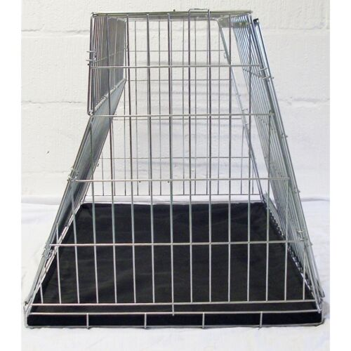 PET WORLD SMART CAR SLOPING CAR DOG CAGE BOOT TRAVEL CRATE PUPPY GUARD