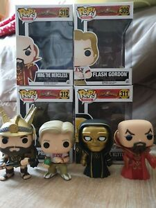 Funko Pop Movies - 4 De Flash Gordon