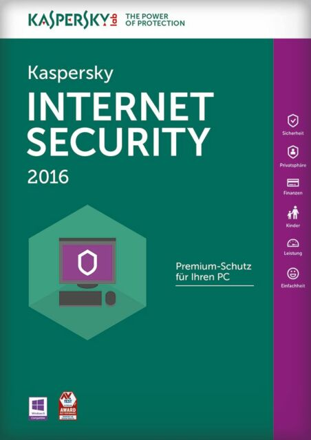 Kaspersky Internet Security 2016 | 5 PC | 2 Jahre | Vollversion [KEY]