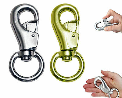 Colour Aluminium Carabiner D-Ring Spring Clip Snap Hook Lock Keyring Clasp