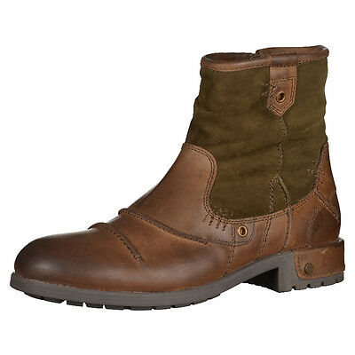BUGATTI Herren Schuhe Stiefelette Leder NEU