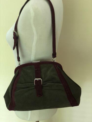 Suede Alberta Ferretti Philosohy Purse Handbag New Clutch Di CoedBx
