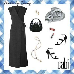Cabi-2019-Spring-Disco-Dress-super-sleek-and-comfy-maxi-119-NEW-Size-M