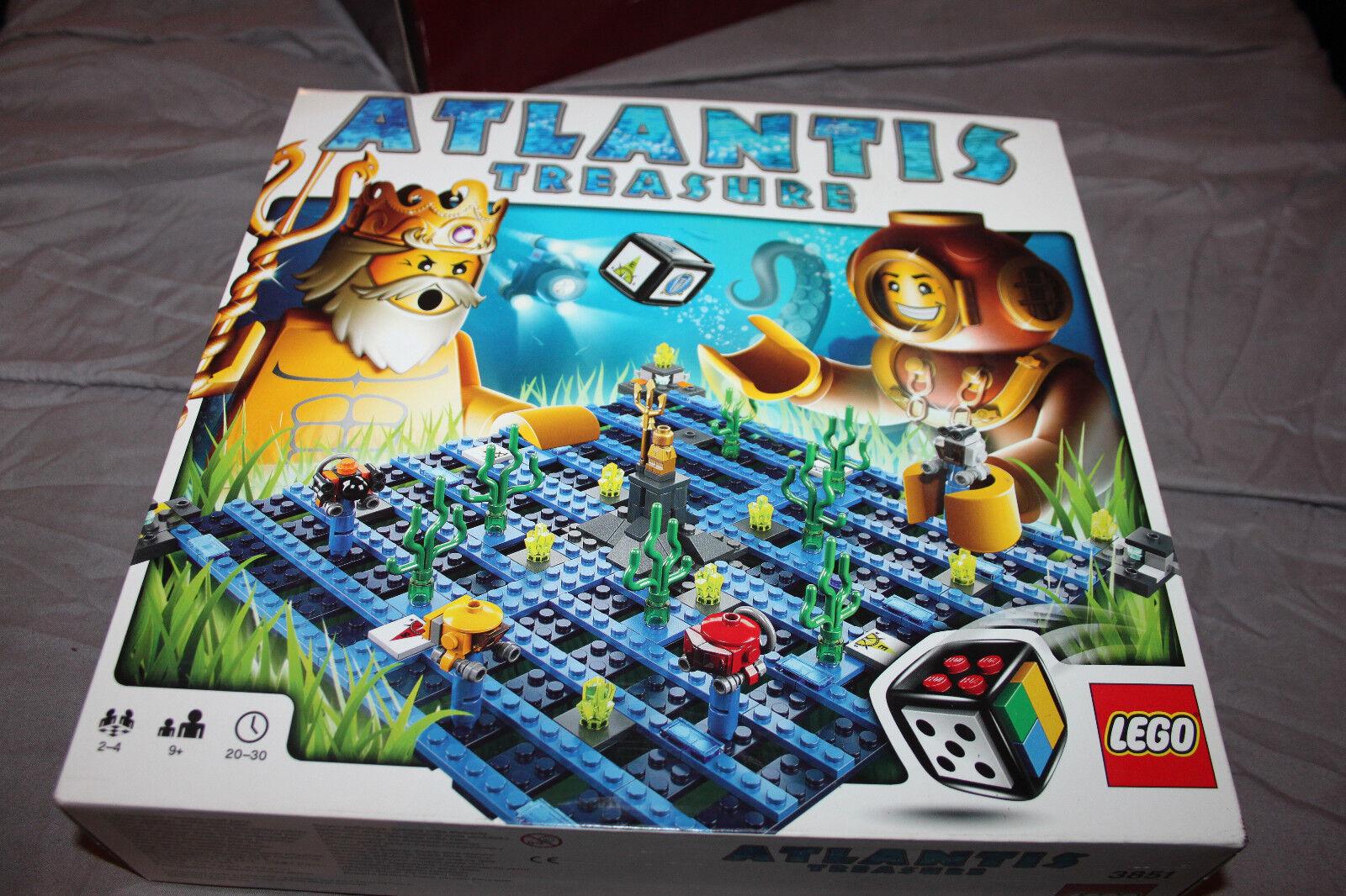 &  JEU   JOUET rare  LEGO ATLANTIS - TREASURE   COMPLET PARFAIT ETAT
