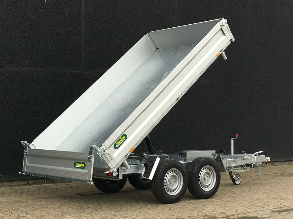 Tiptrailer, UNSINN 306 x 175 x 35 cm. (type UDK) 3500KG,