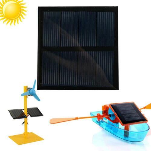 60 60mm 2V220MA Mini Solar Panel Modul Für Akku Handy Ladegerät DIY