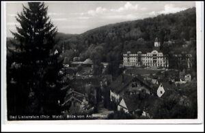 Bad-Liebenstein-Thueringer-Wald-AK-1939-Teilansicht-Blick-vom-Aschenberg