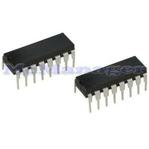 2x CD4094BE/4094 Shift/Store Register C-MOS IC