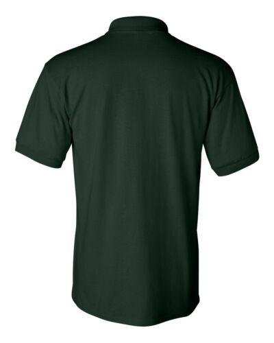 PEACHES PICK GILDAN NEW Mens Size S-5XL 50//50 Jersey Knit Polo Sport Shirt 8800