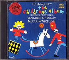 Vladimir SPIVAKOV: TCHAIKOVSKY Children's Album Snow Madien String Serenade CD