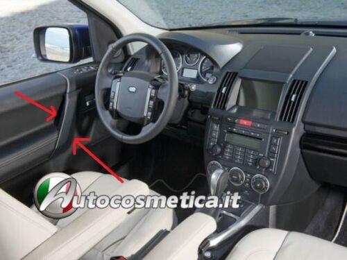 CORNICI PROFILI PANNELLI INTERNI IN ABS NERO LUCIDO Range Rover Freelander II