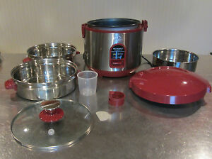 Wolfgang-Puck-Stainless-Steel-Steamer-amp-7-Cup-Rice-Perfect-Cooker-Bistro
