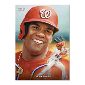 Juan Soto - Card #3 - 2021 Topps Game Within the Game - Washington Nationals