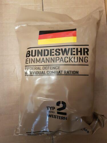 MRE EPA Deutsche Bundeswehr Typ 2 Einmannpaket 1.8 kg