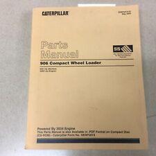 Cat Caterpillar 906 Parts Manual Book Catalog List Compact Wheel Loader Sn 6zs
