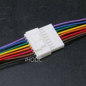 1pc small 8pin terminal lead wire harness jack and plug 8 pin wire rh ebay com 8 pin wire harness 8 pin wiring harness connector