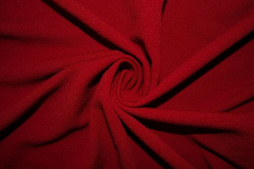 Cranberry Liverpool #44 Double Knit Stretch Polyester Lycra Spandex Fabric BTY