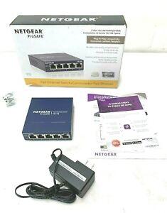NETGEAR-ProSAFE-5-Port-Fast-Ethernet-Switch-FS105-8222
