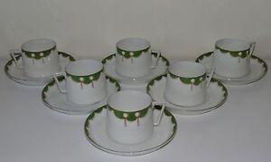 Holwein-Service-de-6-tasses-a-cafe-en-porcelaine