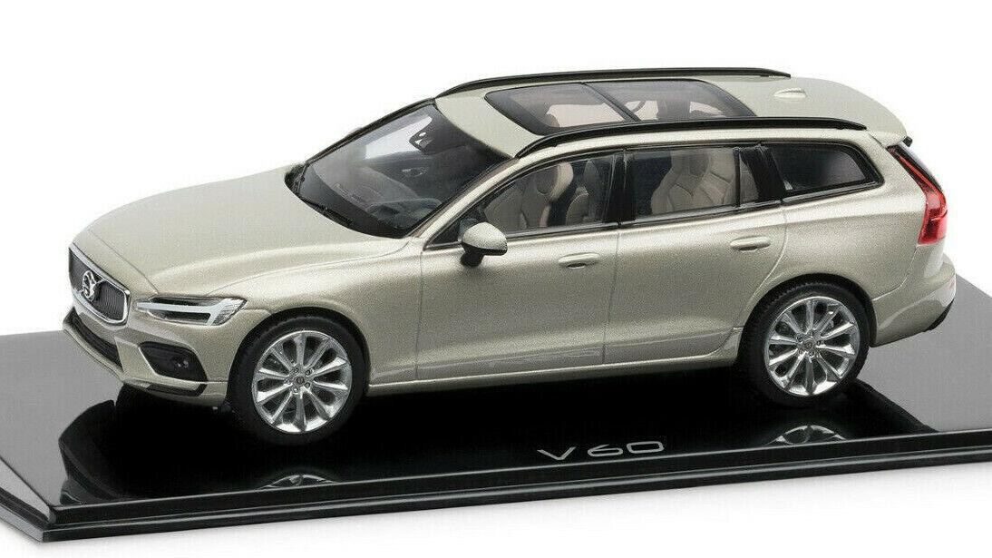 Maravilloso Diecast pr-MODELCoche Volvo V60 2019-Luz De Abedul - 1 43 - Ed. Lim.